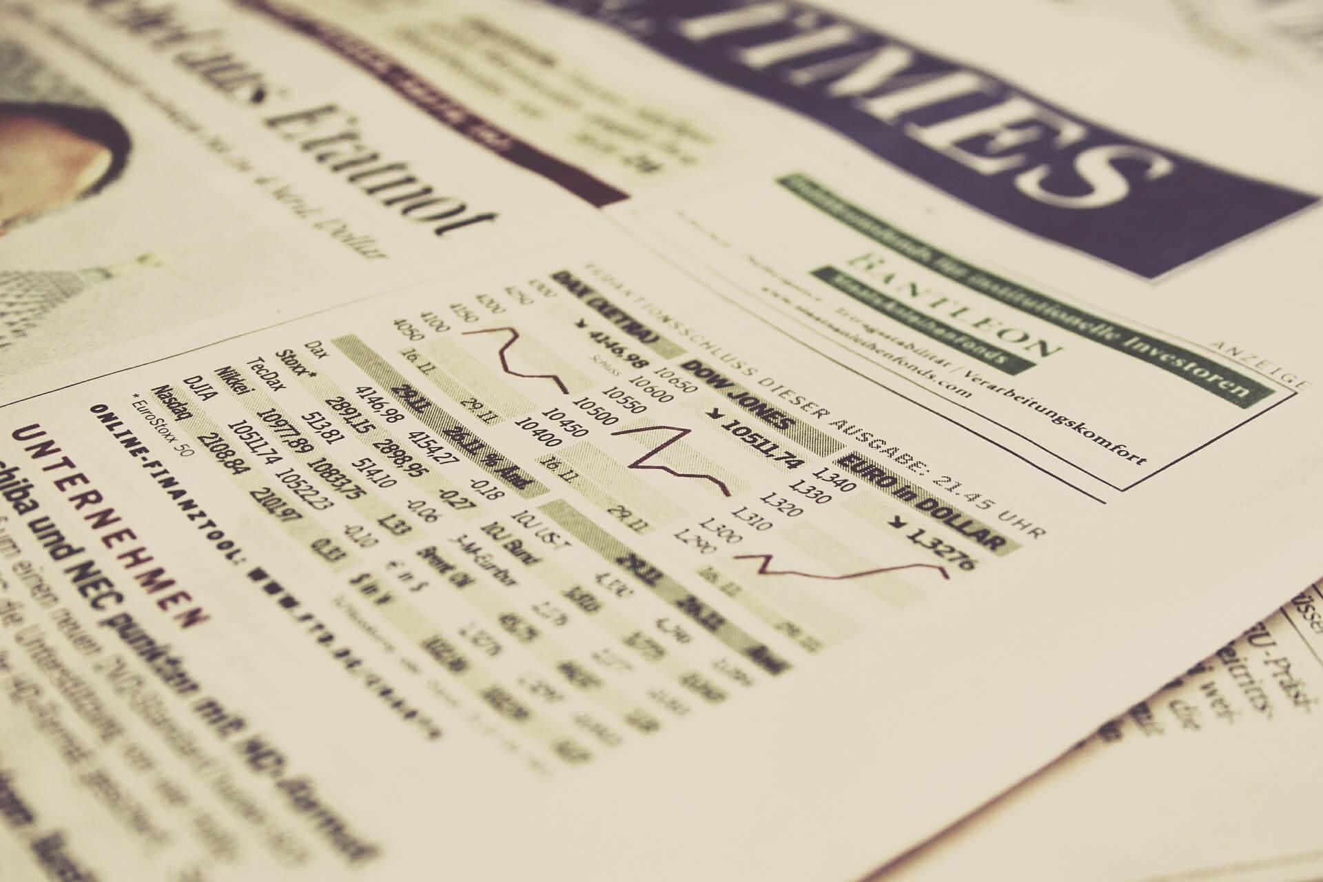 важнейшие фондовые индексы