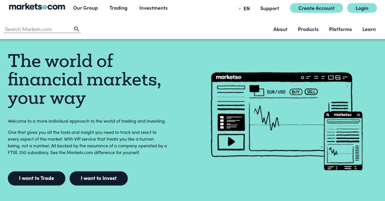 markets.com официальный сайт