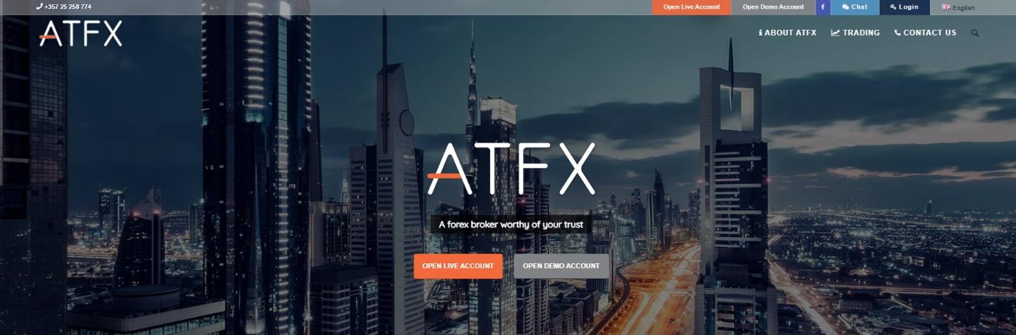 как работает брокер atfx