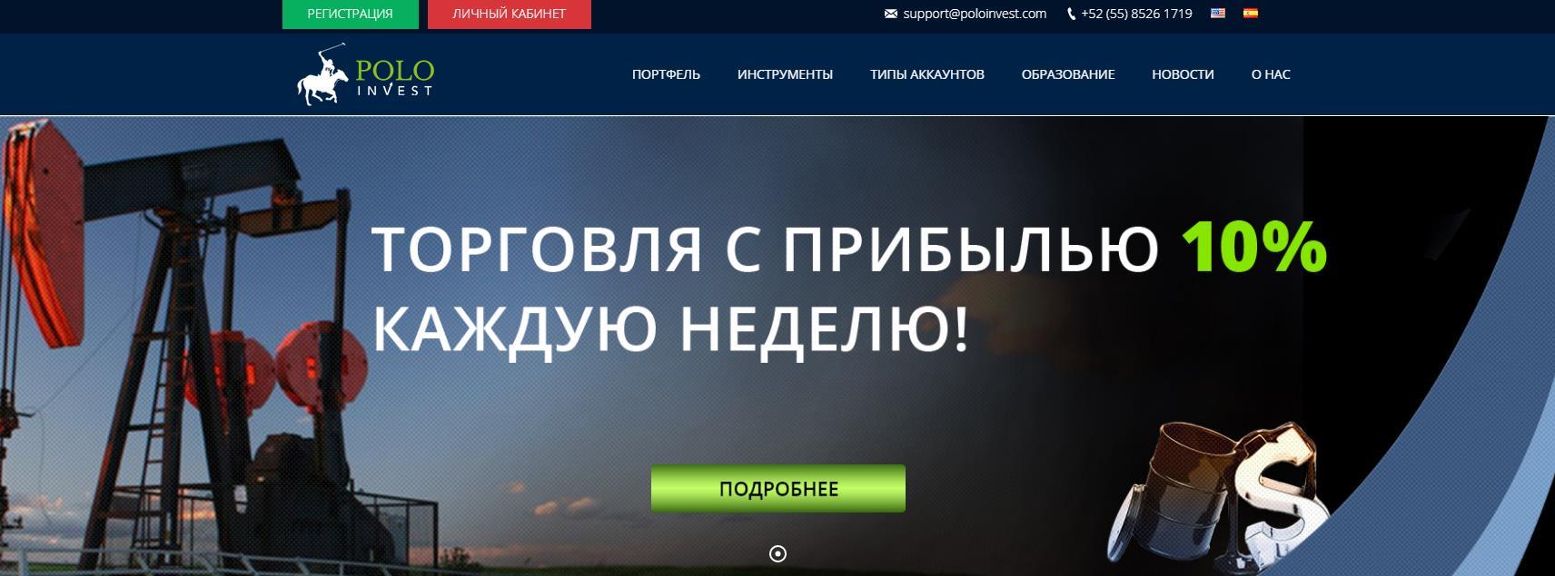 обзор компании poloinvest