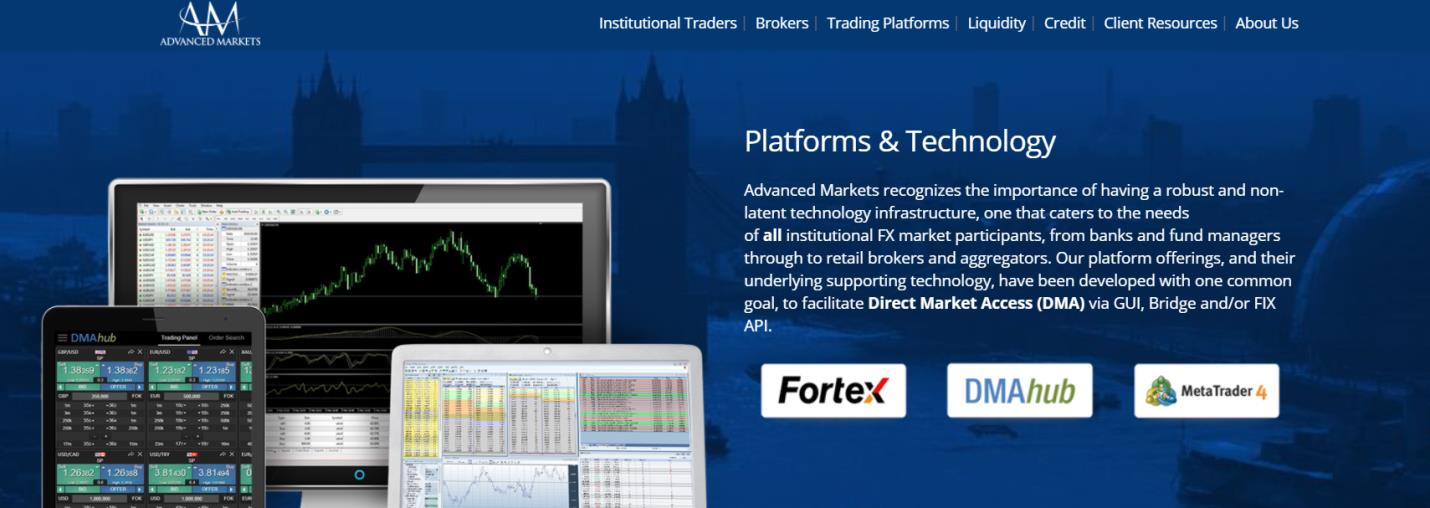 торговая платформа компании advanced markets