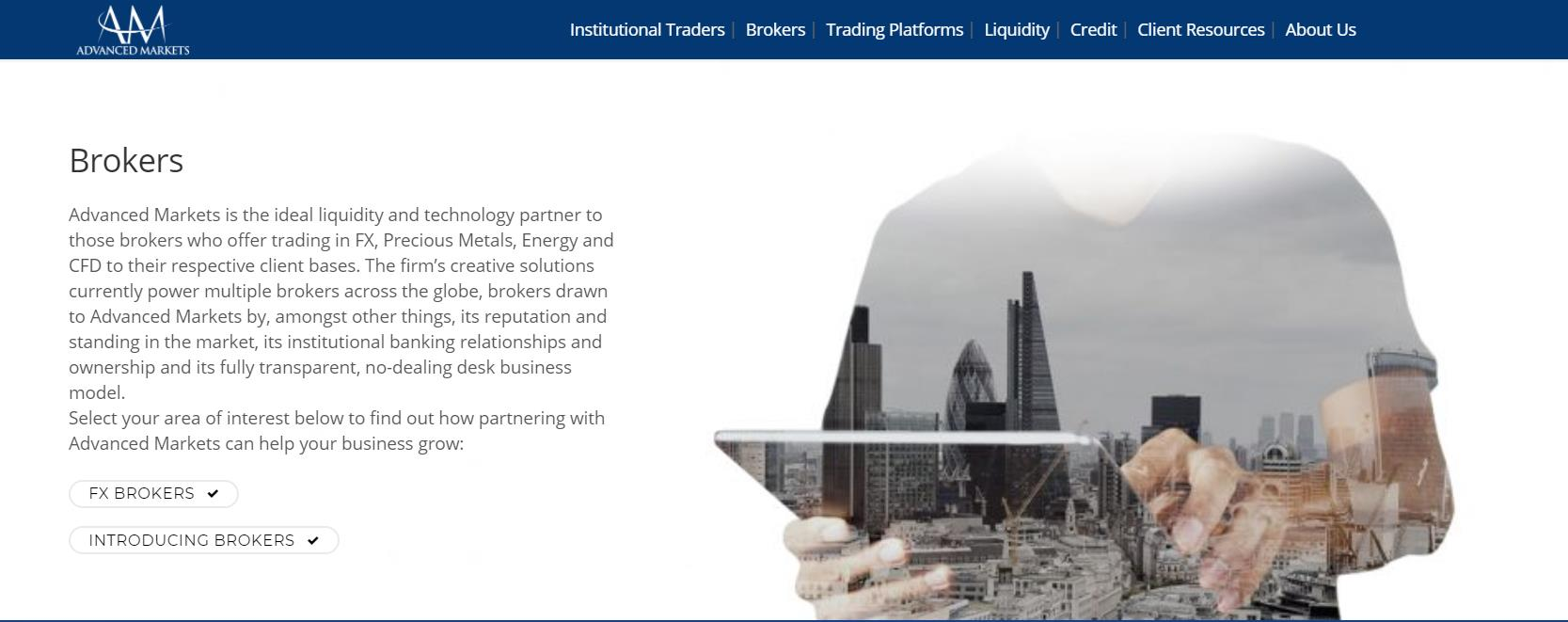 брокерская компания advanced markets