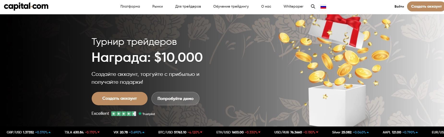 обзор компании capital.com