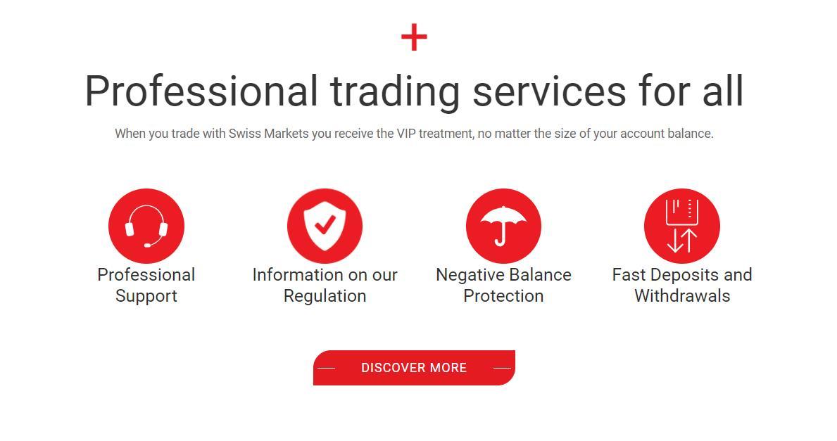 анализ услуг брокера swiss markets