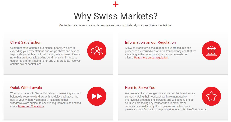почему swiss markets