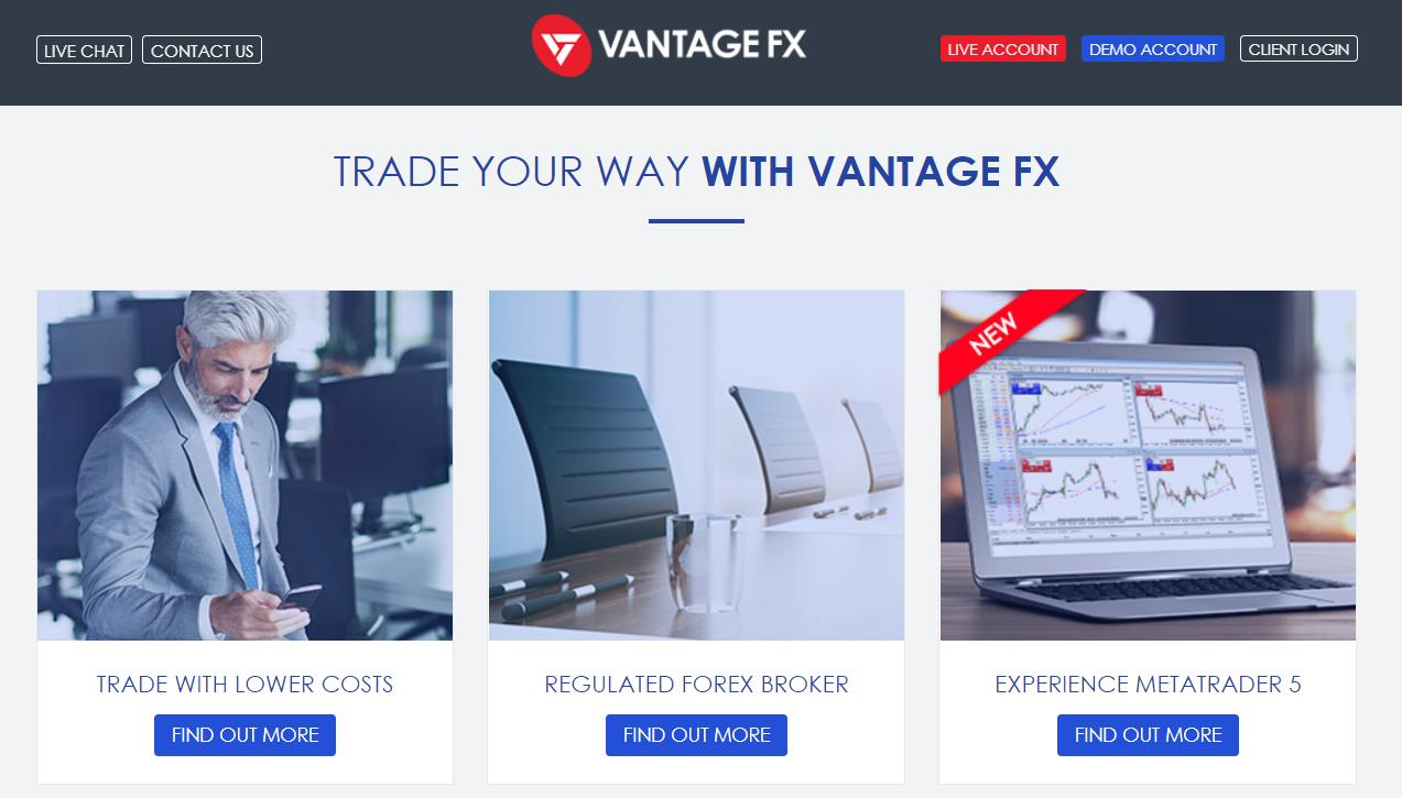 обзор компании vantage fx