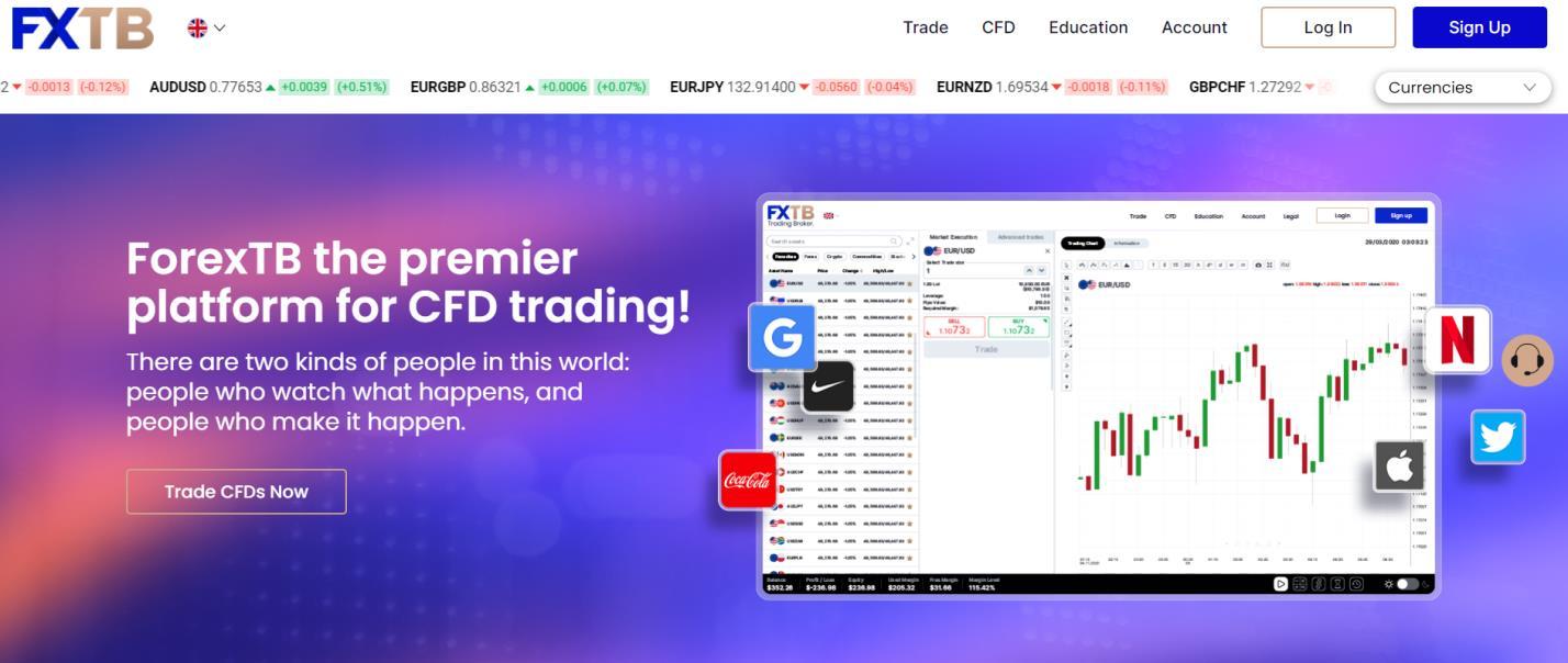 официальный сайт forextb