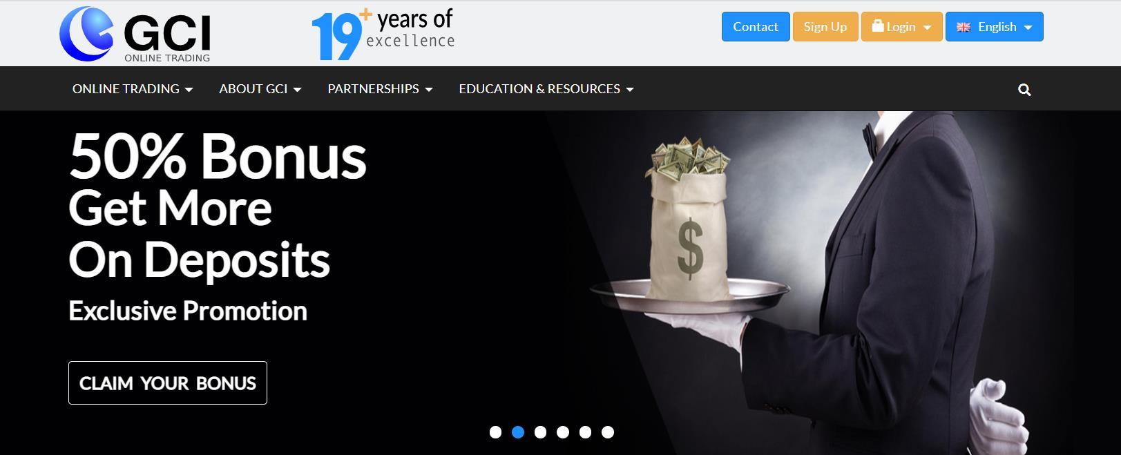 официальный сайт gci