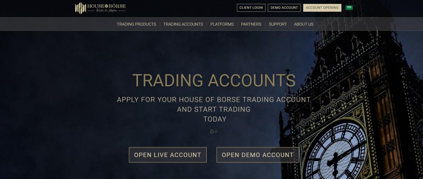 официальный сайт house of borse