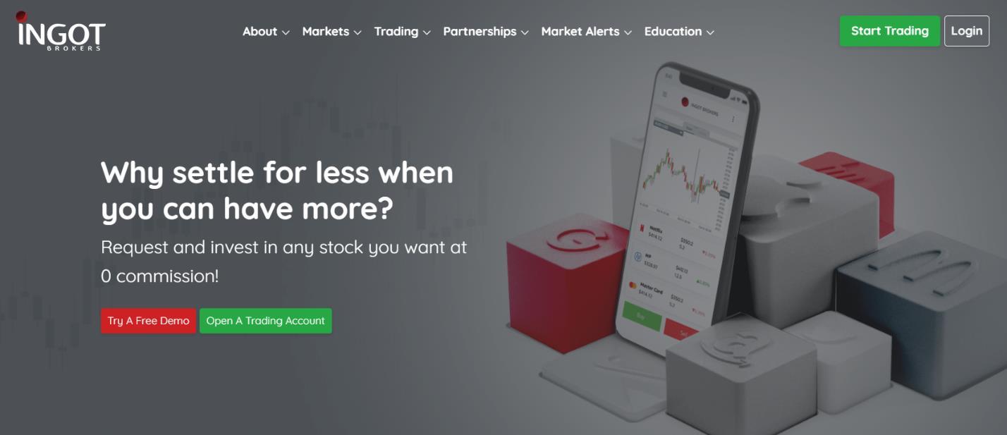 ingot brokers официальный сайт