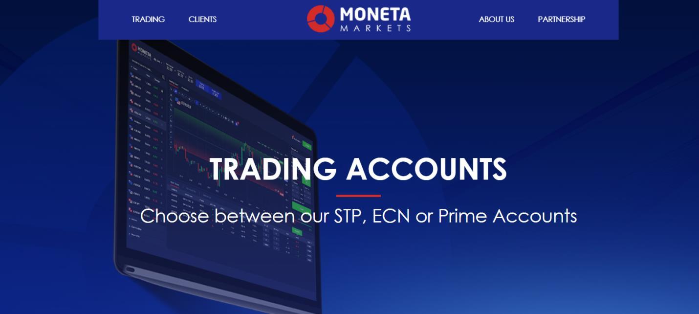 moneta markets торговые аккаунты