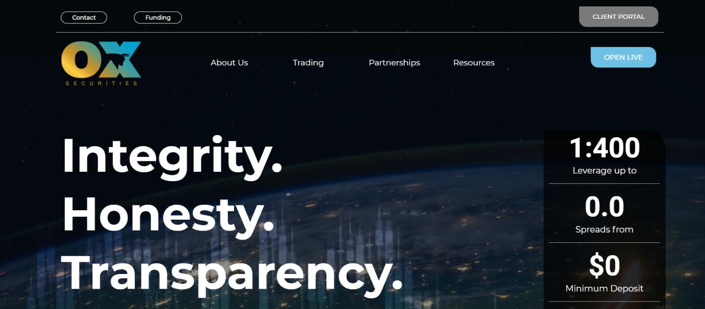 сайт брокера ox traders