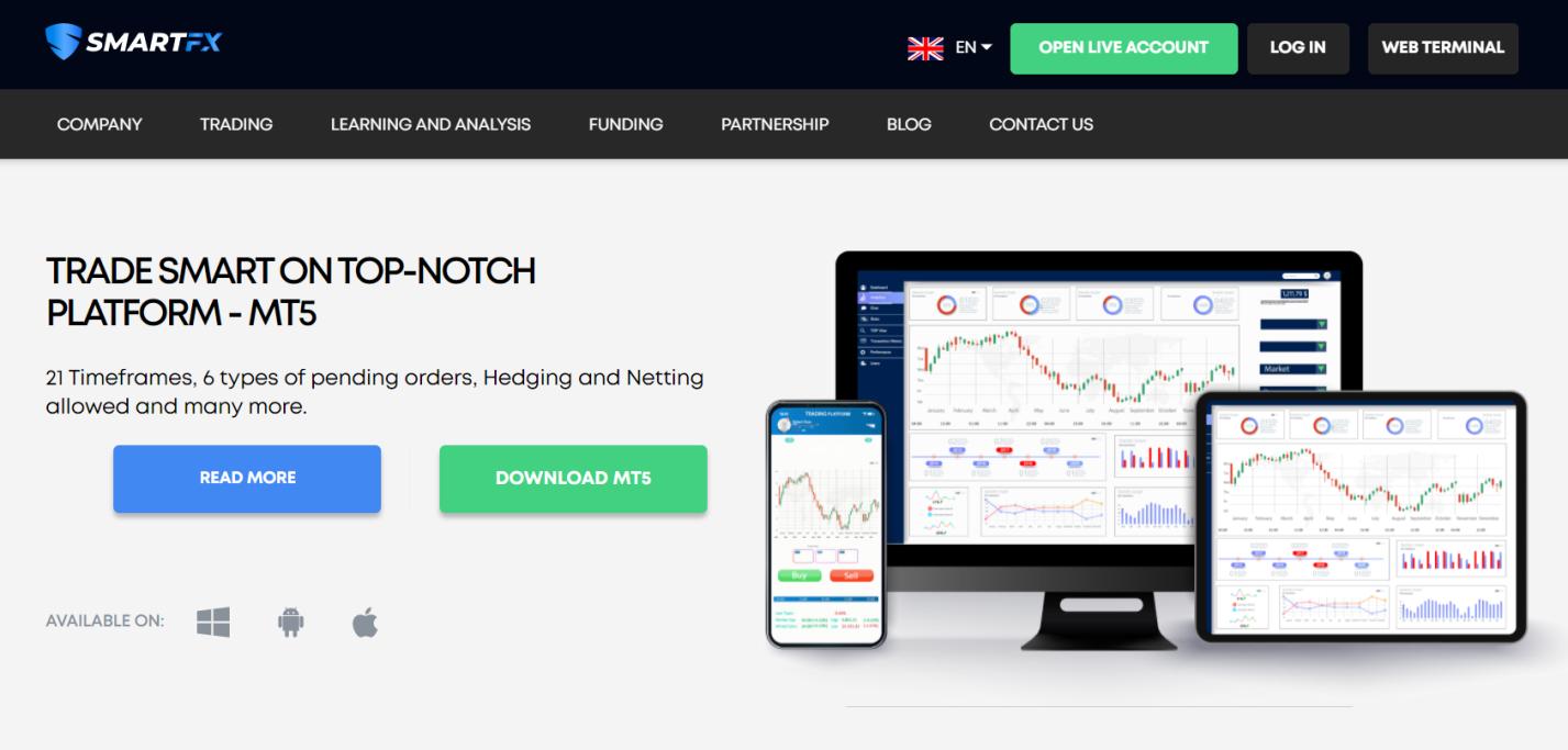 smartfx торговая платформа
