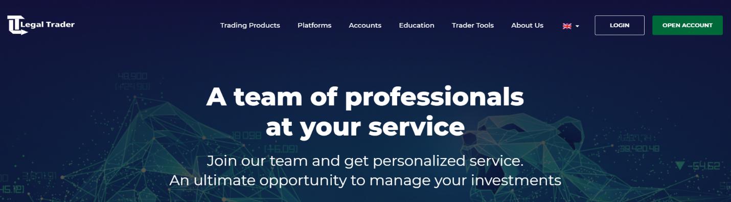 legal trader официальный сайт