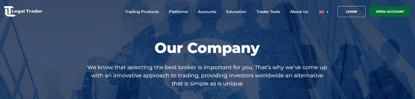 legal trader информация о компании