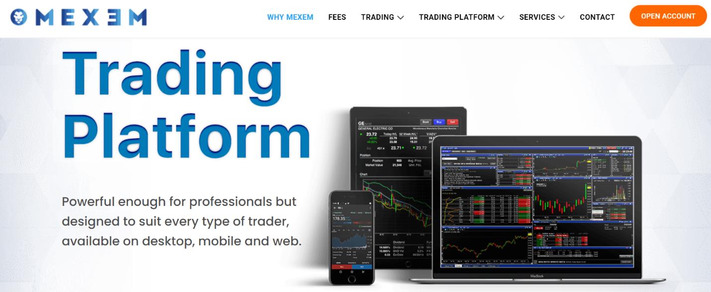 mexem торговые платформы