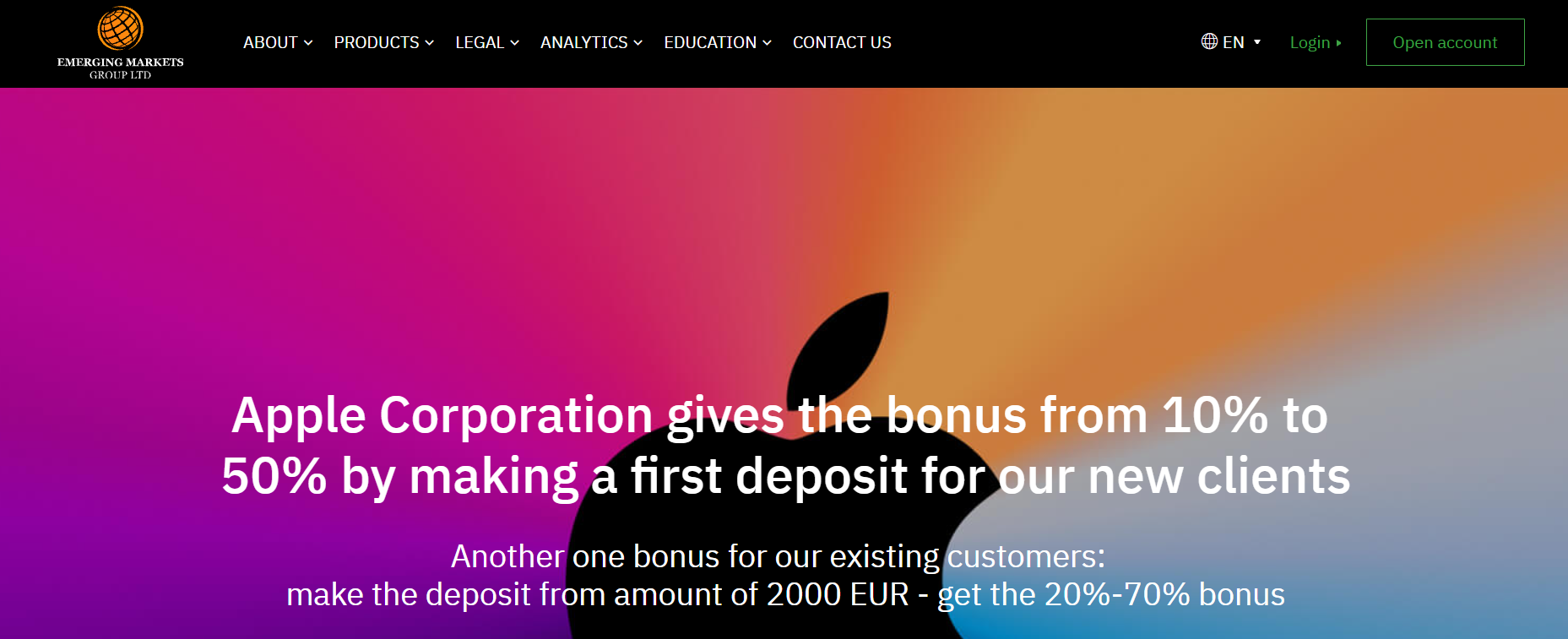 emerging markets group официальный сайт обмана